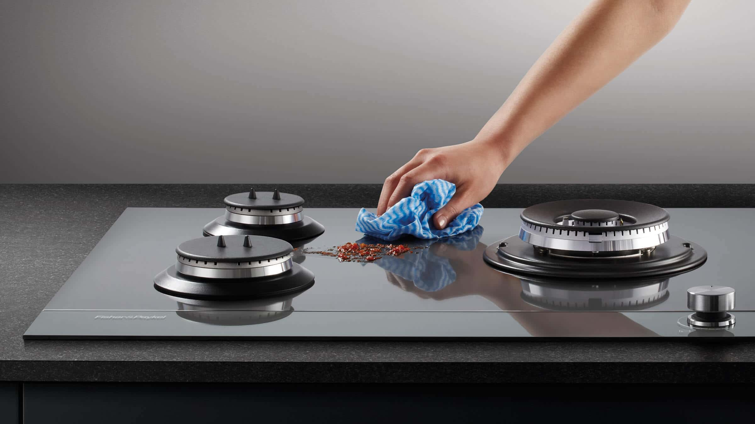GAS STOVE TOUGHENED